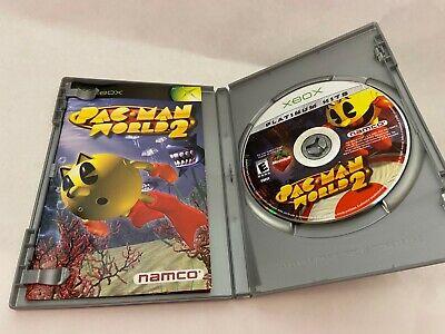 Pac-Man World 2 Platinum Hits (Microsoft Xbox, 2002) Complete CIB w/ Manual