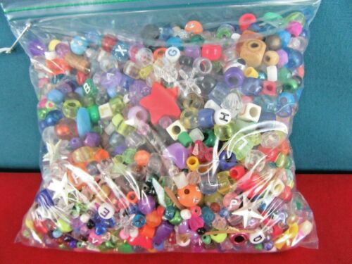 13.5 Ounce Huge Grab Bag of Misc. Beads for Jewelry Making and Crafting