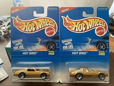 HOT WHEELS VHTF TWO HOT BIRD