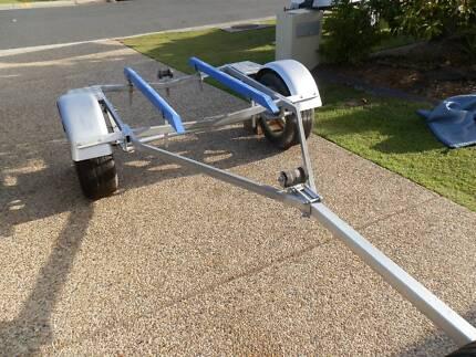 BOAT TRAILER 13ft Excellent cond $750 neg @ Bribie Island Brisbane Region Preview