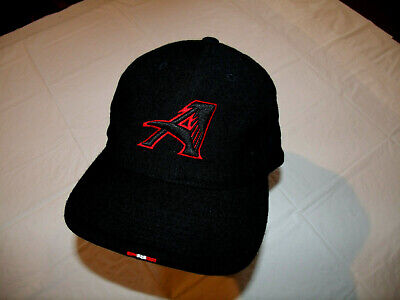 Atlanta Falcons Black Hat Winged A Logo Wool Nike Fitted 7 5/8 Official Sideline Atlanta Falcons Black Official Sideline
