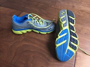 UA running shoes.  Size 6Y