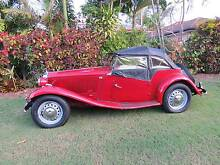 1951 MG TD Convertible Torquay Fraser Coast Preview