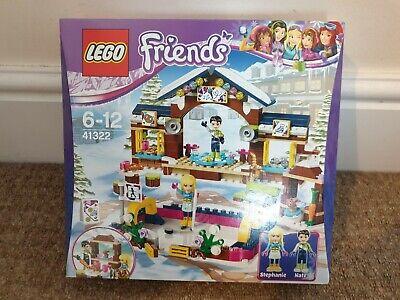 LEGO FRIENDS HEARTLAKE, SNOW RESORT ICE RINK. 41322. BNIB. FREE P+P.