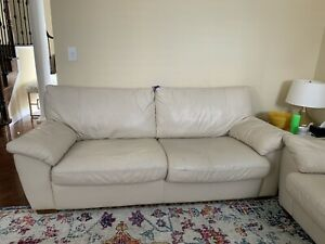 Ikea sofa set leather