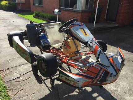 Complete Go Kart and Trailer Starter package