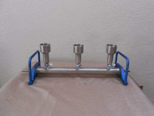 3 Place Filter Funnel Manifold Nice and Clean, Millipore Pall Kimble KNF