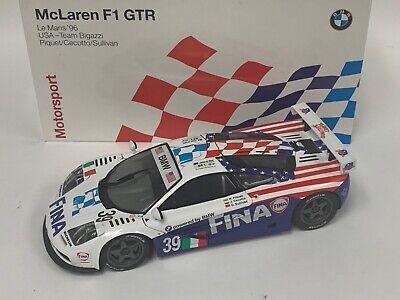 1/18 Minichamps McLaren F1 GTR 1996 24 Hour LeMans Team Bigazzi Dealer MG29