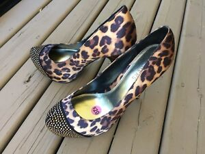 Bakers Leopard Print High Heels for Sale!  NEW!