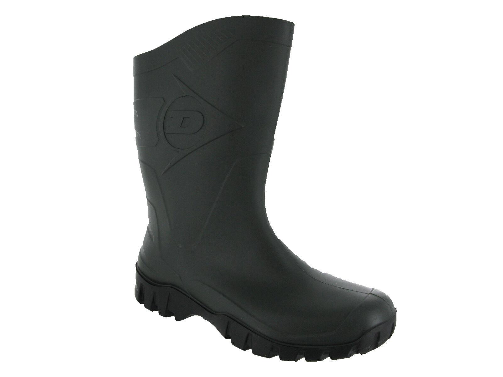 Dunlop Wide Calf Unisex  Herren Damenschuhe Wellingtons Stiefel Stiefel Stiefel Wellies UK4 12 ... 81886e
