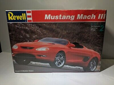 Revell Mustang Mach III Kit 85-7364 Factory SEALED Brand 1/25 Model