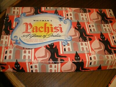 Vintage Whitman's Pachisi Board Game No. 4628:69 Complete   (H) , used for sale  Elizabethtown