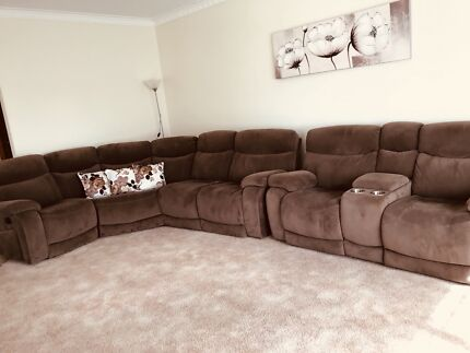 7 seater home theatre lounge recliner