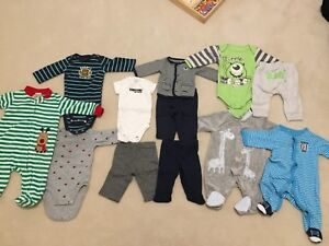 0-3 months and 3-6 month clothing all for $30