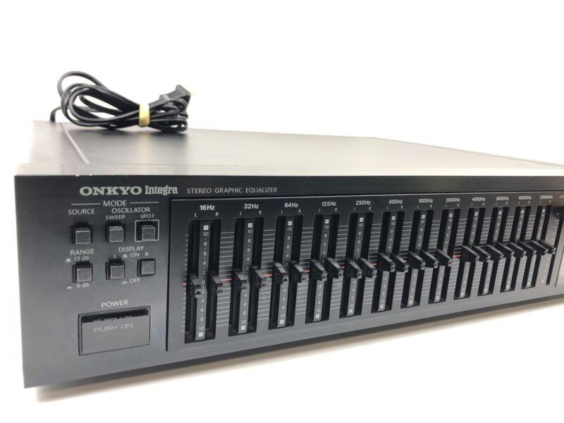 Onkyo Integra EQ-35 Integra Stereo 12 - Band Graphic Equalizer Mixer JAPAN 1983