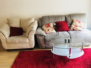 Sofa,Centre Table and centre rug