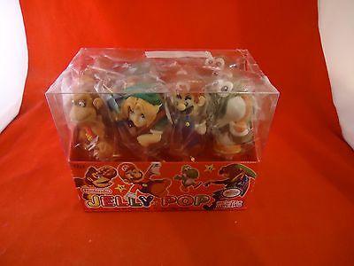 Nintendo Jelly Pop Candy & Originl Display Box Mario Yoshi Donkey Kong Link 12ct