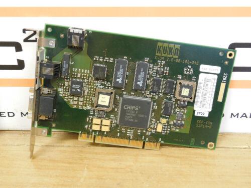 Kuka Kvga 2.0-00-109-040 Interface Video Card For Kc2 2.000109040 Csq
