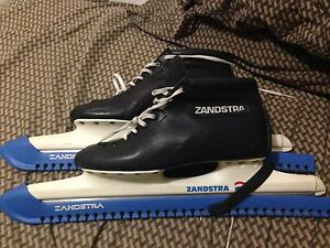 Zandstra 1103 long distance skates NEW 1.25mm toolsteel size41eu