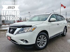 2013 Nissan Pathfinder SL Leather Heated Seats FREE Delivery