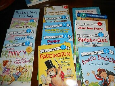 Mixed Lot 15 Level 1  and 2 I Can Read Books