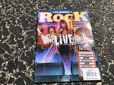 MAY 2008 CLASSIC ROCK music magazine - 50 BEST LIVE