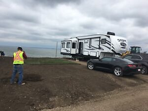 Lot for lease in rv park on buffalo lake