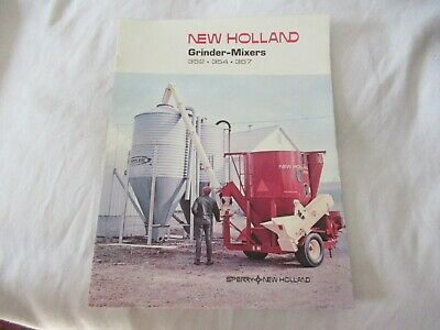 Sperry New Holland 352 354 357 Grinder-mixer Brochure