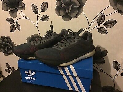 Men's ADIDAS SOLAR DRIVE ST Running Shoes Trainers Size UK 10 Grey