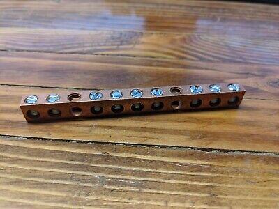 Nsi Copper Neutral Bar Cn70-10-1