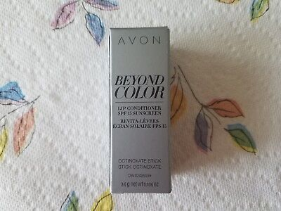 Avon Beyond Color Lip Conditioner Spf15 Fresh Stock Expires 04 2021 Adds Volume