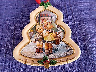 "Hummel - Danbury Mint CHRISTMAS ORNAMENT ""To Market"" TREE"