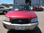 2003 Subaru Forester XS SUV Wagon - Manual Fyshwick South Canberra Preview