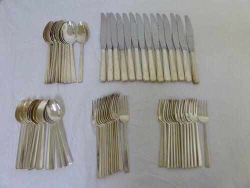 68 Pieces REED & BARTON Mirrorstele Silverware Flatware Dinner Service Set