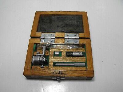 Mitutoyo Inside Micrometer No 141-102 Ims-2 With Original Wood Box