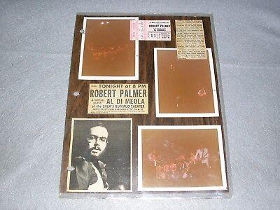 Robert Palmer Concert Ticket Stub Photos & Memorabilia April 1978 Buffalo NY