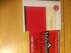 Real estate books and IFIC course book