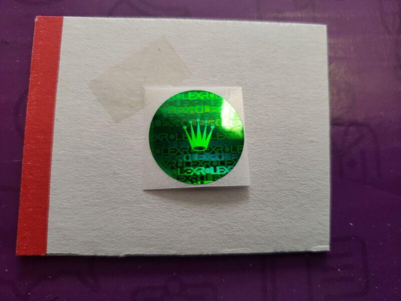 Rolex caseback Hologram sticker 1 pcs