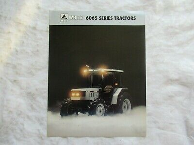 White 6065 Series Tractors Brochure