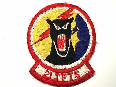 Original USAF 21st TFTS Tactical Fighter Training Squadron 21 Vietnam Era RARE