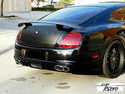 Bentley Continental GT Tesoro Rear Trunk Wing Spoiler (UNPAINTED)