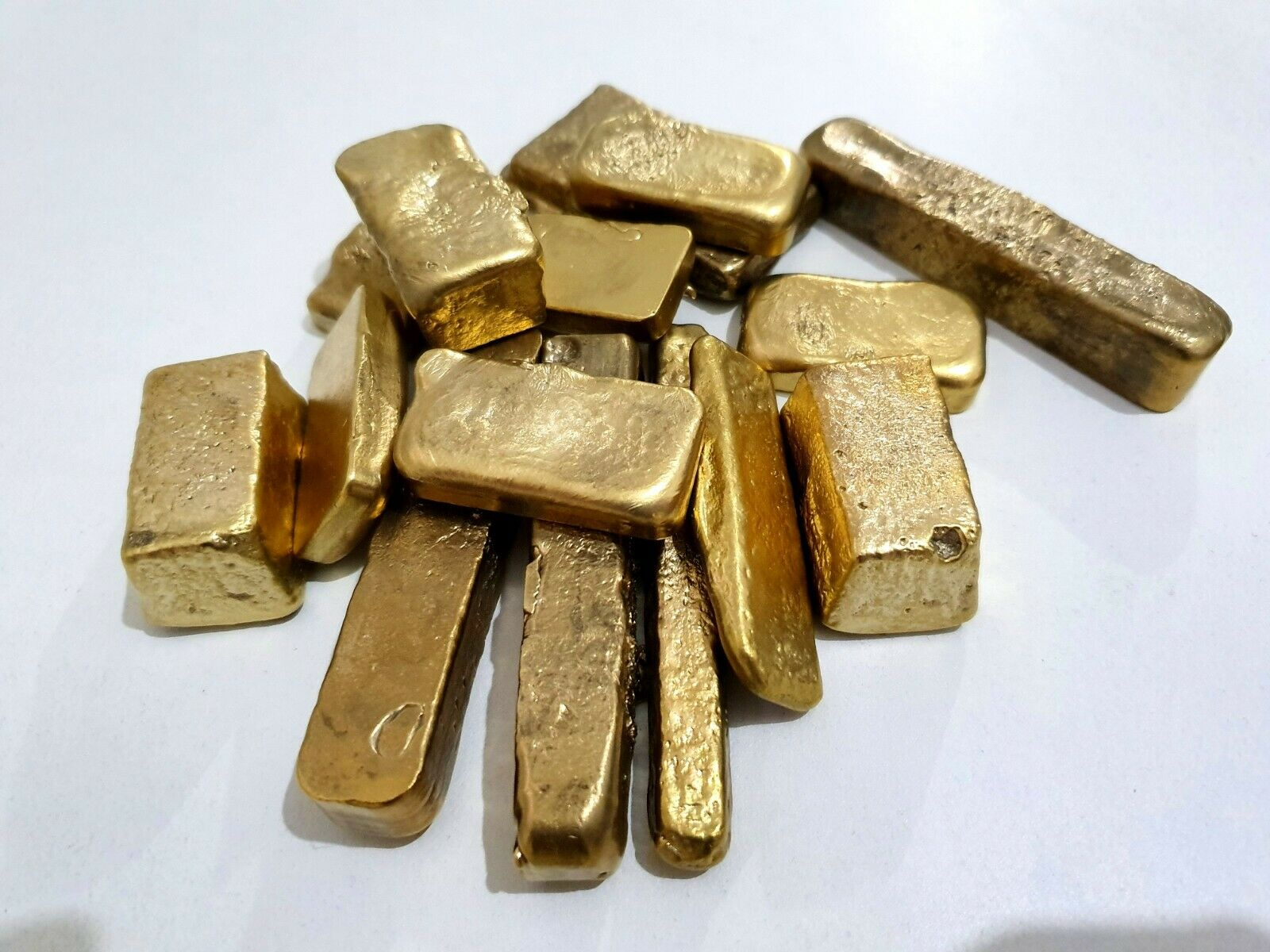 150 grams Scrap gold bar for Gold Recovery melted different computer coin pins