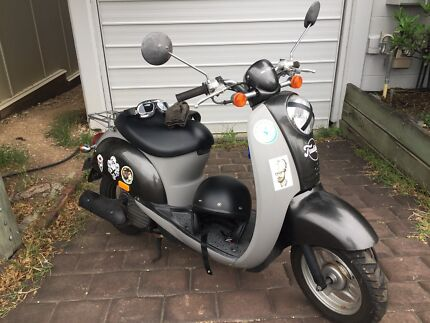 Honda Scoopy scooter