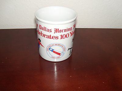 The Dallas Morning News Celebrates 100 Years 1885-1985 Ceramic Cup/Mug