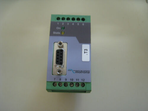 Motrona FU252 Frequency Signal Converter Used Free Shipping