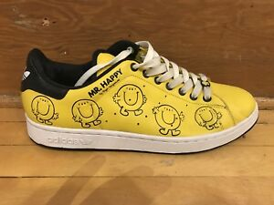 Souliers Shoes Adidas Stan Smith Mens size 11  Mr. Happy used