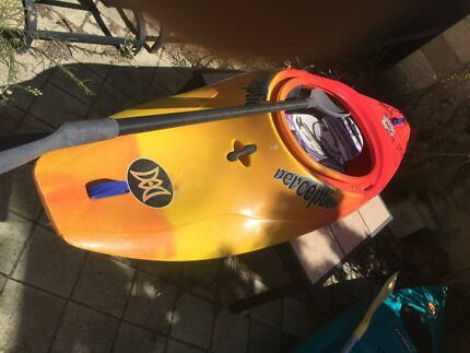 Perception kayak &paddle
