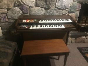 Technics dual keyboard home organ