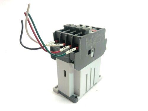 ABB NL40E Relay Contactor 24VDC Coil 600VAC Max