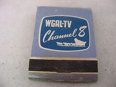 Vintage Matchbook  Wgal Tv Channel 8  Your Color Station